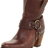 FRYE Women`s Taylor Ring Bootie,Dark Brown,6.5 M US