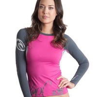 Rip Curl Women`s Brazil Long Sleeve Lycra Top