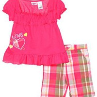 Kidzone `Love the Sun!` 2-Piece Outfit (Sizes 12M - 24M)