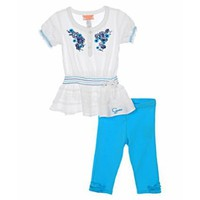 Guess &quot;Maya Ruffle&quot;2-Piece Outfit (Sizes 2T - 4T)
