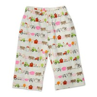 Zutano Baby-Girls Infant Little Farm Organic Pant