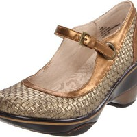 Jambu Women`s Seoul Wedge Pump,Bronze,8.5 B US