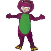 Barney Costume Boy - Toddler 3-4T