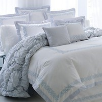 Sanctuary by L'erba Bedding, Sea Scape Full/Queen Duvet Cover - Duvet Covers - Bed & Bath - Macy's