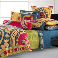 Natori Bedding, Uzbek King Duvet Cover - Duvet Covers - Bed &amp; Bath - Macy&#x27;s