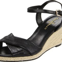 Cole Haan Women`s Air Camila 65 Wedge Sandal,Black,8.5 B US