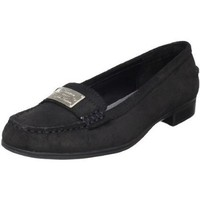 Lauren Ralph Lauren Women`s Gratia Slip-On Loafer,Vintage Black,8.5 M US