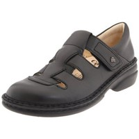 Finn Comfort Women`s Quebec Loafer,Black Nappa,37 EU (US Women`s 6 M)