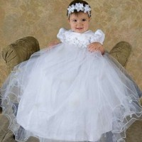 Shanna Girls Christening Gown
