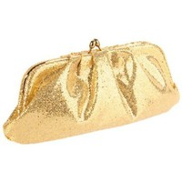 La Regale Women`s 24624 24624 Clutch,Gold,One Size