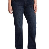Levi`s 512 Women`s Plus Perfectly Shaping Boot Cut Jean with Tummy-Slimming Panel