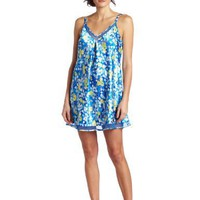 Oscar de la Renta Women`s Seaside Morning Chemise