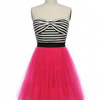 Glitter &amp; Glam Rock Frock in Hot Pink