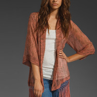 Left on Houston Riviera Fringe Cardigan