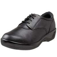 Aetrex Women`s B2000 Oxford,Black,9.5 W US