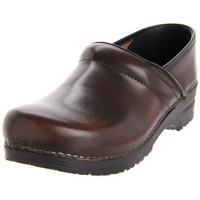 Sanita Women`s Professional Cabrio Clog,Brown,39 EU/8.5-9 W US
