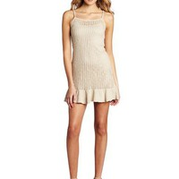 Kensie Women`s Textured Twisty Knit Dress