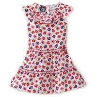 So La Vita Toddler Girls Toddler Two Tier Dress