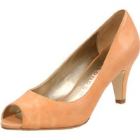 Sacha London Women`s Holly Open-Toe Pump,Amber Apache,7 M US