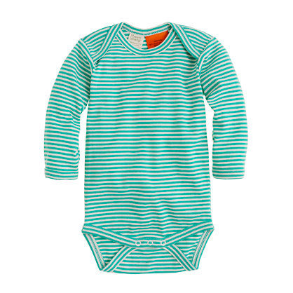 Nature Baby for J.Crew cotton one-piece