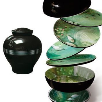 Yuan Vase / Stackable Bowls