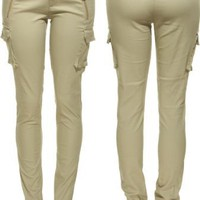 ROMEO & JULIET COUTURE Stretch Pintuck Cargo Skinny [RJ23357]