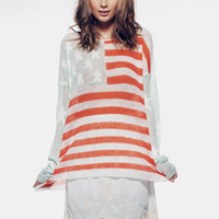 BORN ON THE 4TH OF JULY - BILLY SWEATER at Wildfox Couture in  BLAGN, SEAFM