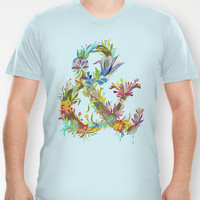 Land of Ampersand T-shirt by Katie Daisy | Society6