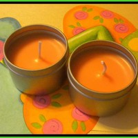Soy Candle - Mango Papaya Scented -.. on Luulla