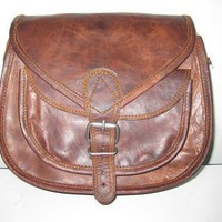 Leather Purse Gypsy style small ladies leather purse women leather purse messenger bag brown leather satchel small travel pouch camera case