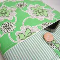 iPad 3 with pocket, ipad case, new ipad case , iPad 2, ipad 3, ipad 2 Cover pocket, Touch Pad, Amy Butler