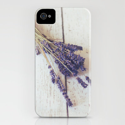 lavender bunch iPhone Case by Beverly LeFevre | Society6