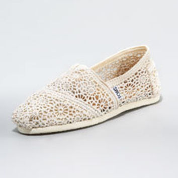 Crocheted Slip-On