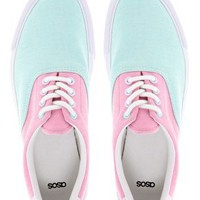 ASOS DENVER Plimsolls at asos.com