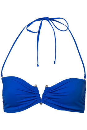 Cobalt Bandeau Bikini Top - Swimwear  - Apparel