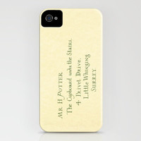 Hogwarts Invitation iPhone Case by Pixie Sticks | Society6
