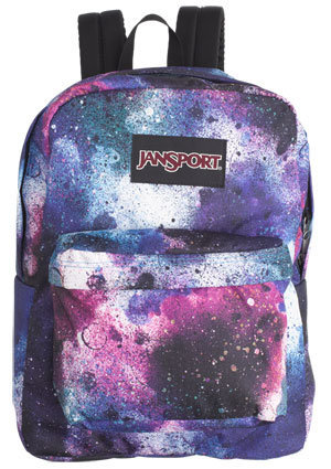 Jansport Spray Can Black Label Superbreak Backpack
