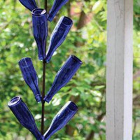 hanging bottle tree
