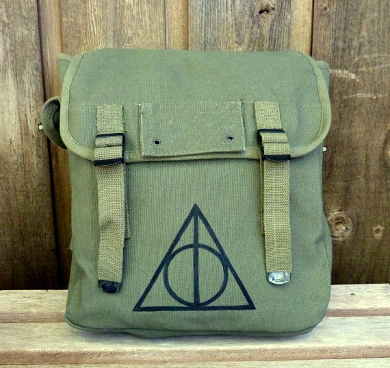 harry potter deathly hallows hand painted from clpstudio. Black Bedroom Furniture Sets. Home Design Ideas