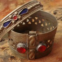 Vintage Kuchi Bracelets / Tribal Bracelets for Small Hands / Handmade Bracelets TREASURY ITEM