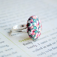 Liberty Of London Button Ring, Nick.. on Luulla