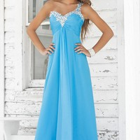 Buy Chiffon Gown One-Shoulder Pleated Open Back Bridesmaid Dresses Homecoming Dresses YSP9373 , from  for $114.85 only in Maxnina.com.