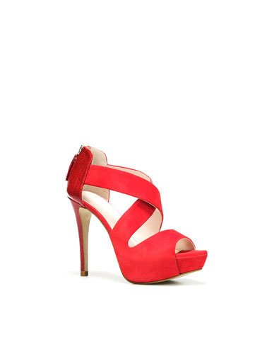 PLATFORM SANDAL - Shoes - Woman - ZARA United States