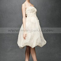 Bridal Party Dresses - Wedding Dress Style Floral Artwork Dress BH4 - Mini Wedding Dresses - Wedding Dresses - Wedding Apparel - Affordable Wedding Dresses Manufacturer