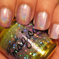 ally Hansen Magical Nail Makeup