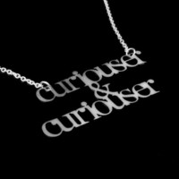 Curiouser by UntamedMenagerie on Etsy