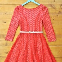 Field of Poppies Dress - $68: Boho Clothing, Vintage Style Clothing, Wedding and Artisan Jewelry