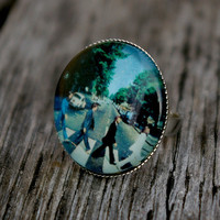 The Beatles Abbey Road- adjustable ring