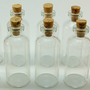 20 Mini Glass 10 ml Bottles with Corks