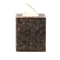 Jan Barboglio Hammered Tissue Box | Rain Collection